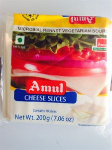 Picture of Amul Cheese Sliced 200gm (Veg)